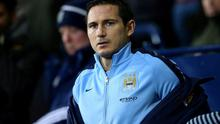 Frank Lampard will miss the first four months of the MLS season with New York City