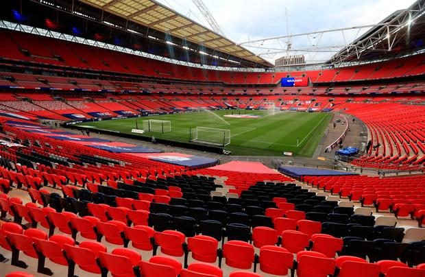Wembley Stadium had looked likely to host this month's Champions League final but Lisbon is now believed to be under consideration
