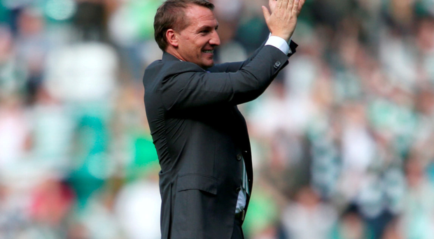 Celtic manager Brendan Rodgers. Photo: PA