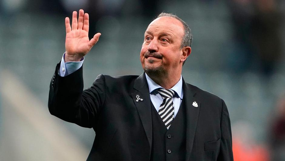 Former Newcastle and Liverpool manager Rafa Benitez is now the Everton boss. Photo: PA