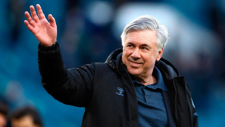Carlo Ancelotti has left his position as Everton manager to take up the role of head coach at Real Madrid. Photo: Jan Kruger/PA