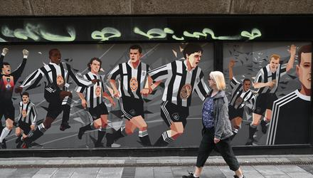 It will be a while yet before Newcastle are back challenging for titles, like they were in the 1990's. Photo by OLI SCARFF/AFP via Getty Images