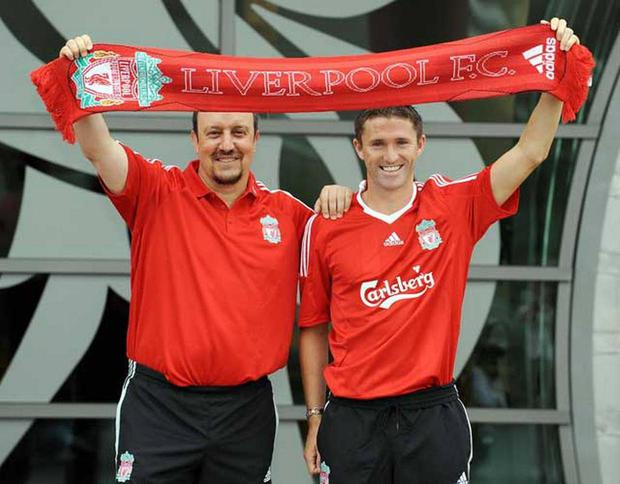 'Robbie Keane could have been a great striker for Liverpool if he had been given a chance by Rafa Benitez'