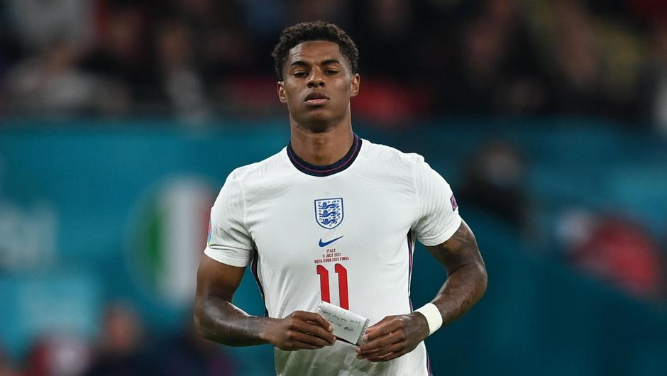England and Manchester United's Marcus Rashford. Credit: Reuters