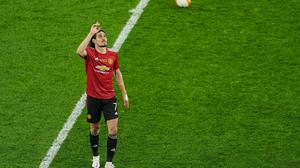 Edinson Cavani signalled that he was up for the fight for a place in the Manchester United starting team