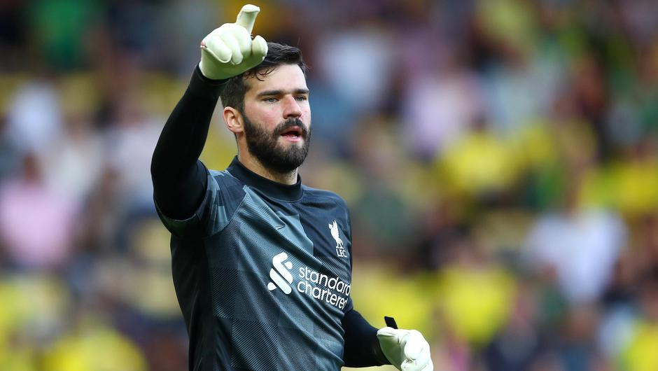 Club clash: Liverpool's Alisson is expected to be in the Brazil starting XI for their clash with Uruguay tomorrow, ruling him out of the Premier League game against Watford on Saturday