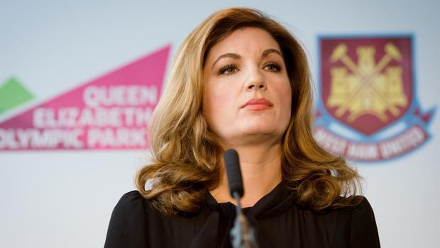 West Ham director Karren Brady is extremely unpopular with a section of the club's fans. Photo: Leon Neal
