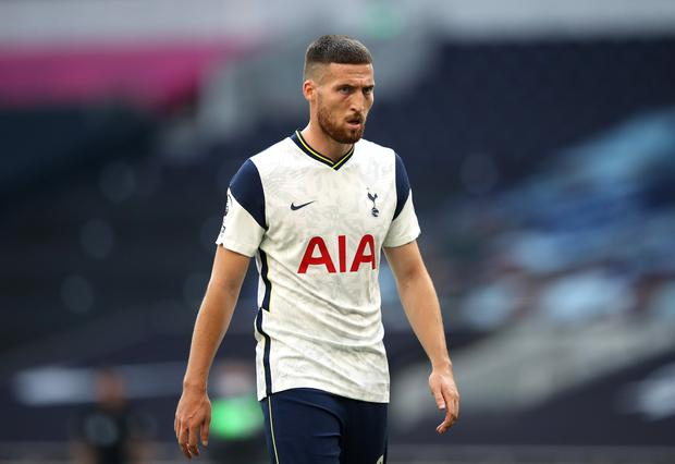 Matt Doherty has endured a difficult spell at Spurs. Photo: Alex Pantling/Getty