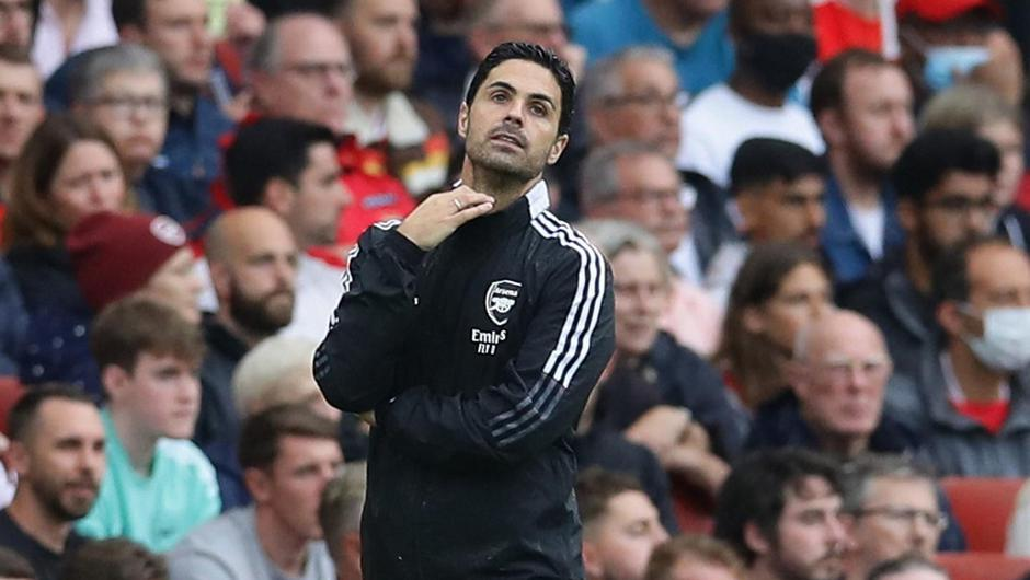 Arsenal manager Mikel Arteta is running out of excuses for his side's form. Credit: Reuters