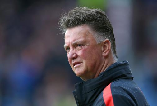 Louis van Gaal is seemingly feeling the pressure at Man Utd.