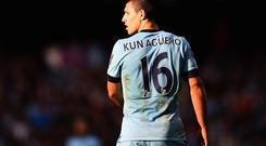 Sergio Aguero insists players must take the blame for City's failings