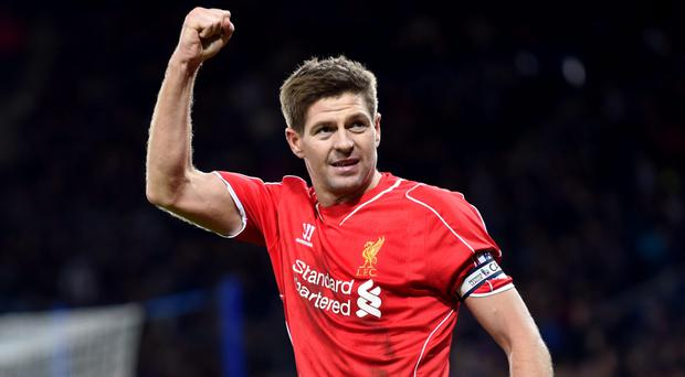 Steven Gerrard will go back and train with Liverpool