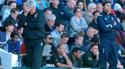 'The travelling fans fell silent; Steve Bruce looked crestfallen and things got worse for Hull shortly afterwards'