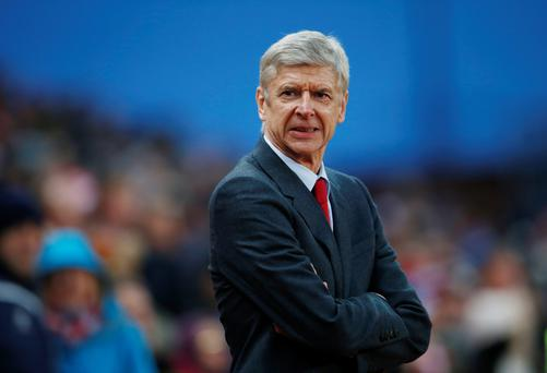 Arsene Wenger: 'I am a facilitator of what is beautiful in man. I define myself as an optimist. My never-ending struggle is to release what is beautiful in man. I can be described as naïve in that sense. But it allows me to believe, and I am often proven right.' Photo: Reuters