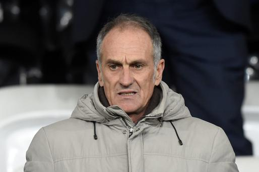 Francesco Guidolin: recharged batteries. Photo: Reuters
