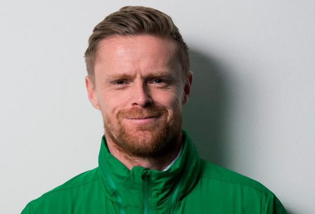 Damien Duff encouraging kids to get back on the streets to play soccer (SPORTSFILE)