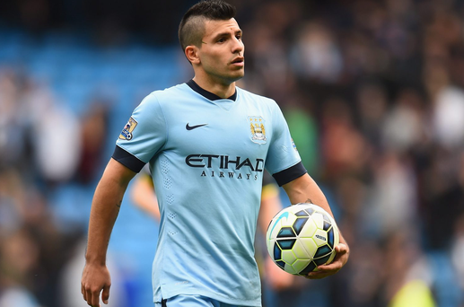 In aid of Temple Street Hospital, €50 on Sergio Aguero at 6/1 to score two or more goals against Chelsea with Paddy Power will return up to €350