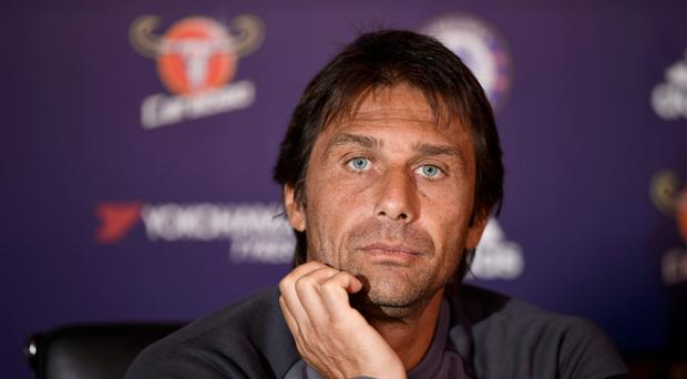 Chelsea boss Antonio Conte is one of four Italian managers in the Premier League. Photo: Reuters