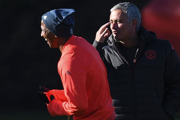 Jose Mourinho kept a close eye on Ashley Young but admits he didn't give him a run of matches to prove himself Picture: AFP/Getty