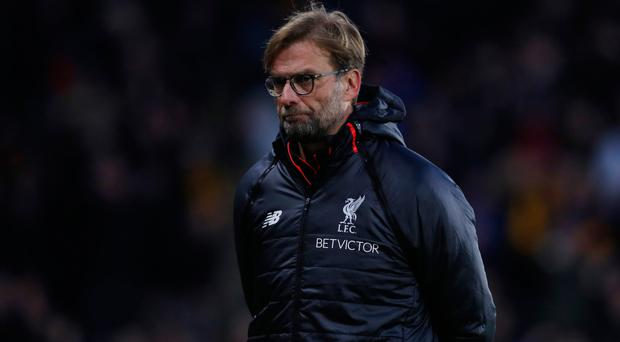 Jurgen Klopp shows his disappointment. Photo: Reuters