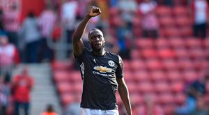 Romelu Lukaku scored the only goal of the game against Southampton on Saturday