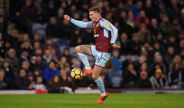 Jeff Hendrick will be hoping to help Burnley add to Manchester United's problems at Old Trafford. Photo: Getty