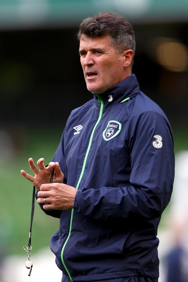 If Martin O'Neill takes the Stoke City job, Roy Keane will probably be alongside him Photo: Getty