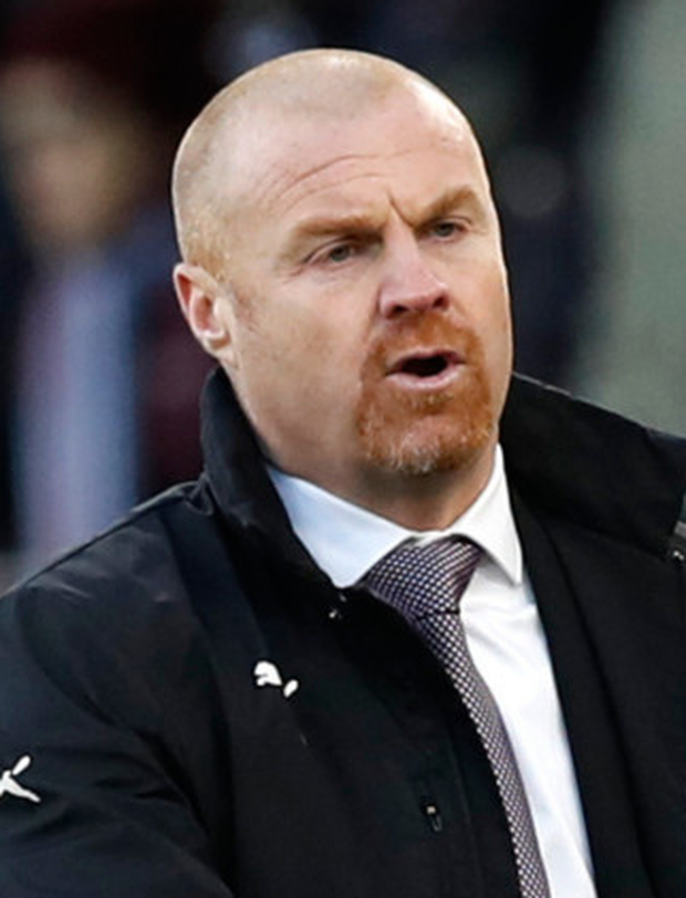Burnley manager Sean Dyche. Photo: PA