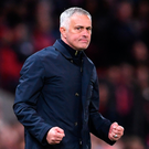 Alexis Sanchez spared Jose Mourinho's blushes with the winner at Old Trafford after reports had suggested Manchester United intended to sack the manager during the international break. Photo: Getty