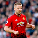 Luke Shaw's deal extends to 2023. Photo: PA
