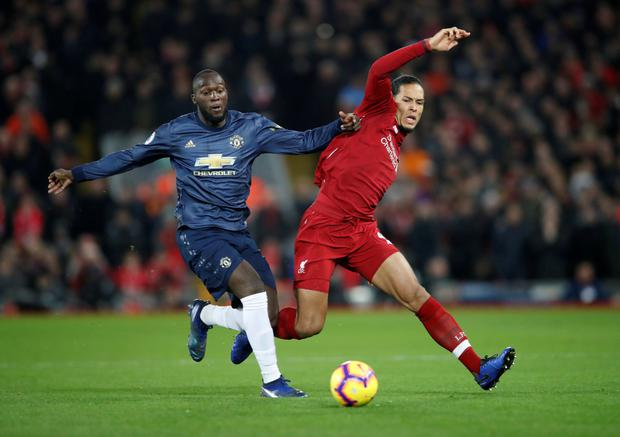 Romelu Lukaku: His touch and record in the big matches suggests he is just a notch below the very highest level. Photo: Action Images via Reuters