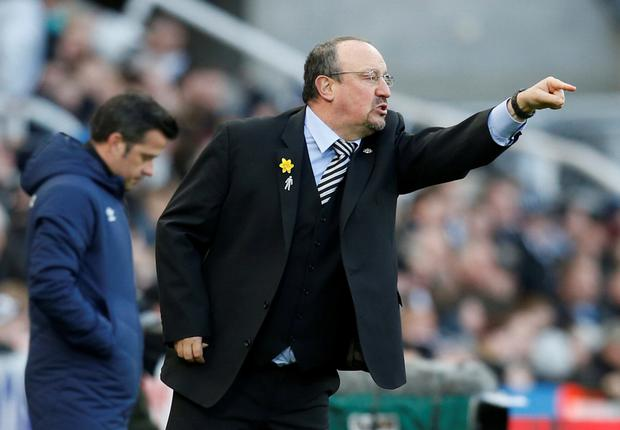 Rafael Benitez's Newcastle came from behind to win and are now up to 13th. Photo: Ed Sykes