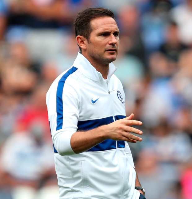 Chelsea manager Frank Lampard. Photo: PA