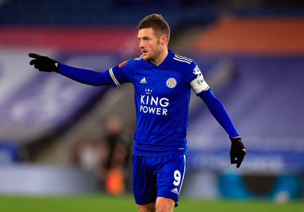 Greatest signing: Leicester City striker Jamie Vardy. Photo: Mike Egerton/PA Wire