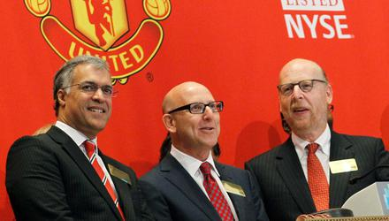 Joel and Avram Glazer have taken massive dividends out of the club