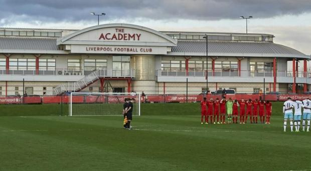 Liverpool's Academy will have no new additions until at least next March. CREDIT: GETTY IMAGES