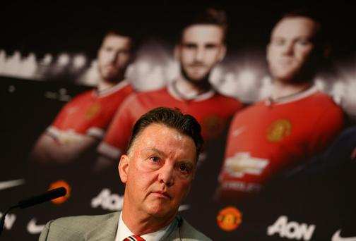 Louis van Gaal has said David Moyes left behind a broken squad