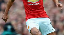 Radamel Falcao will find himself down the pecking order at Old Trafford when he returns from injury