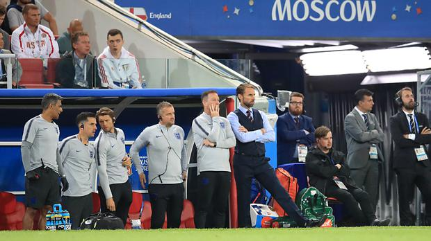 England manager Gareth Southgate has a trusted team working alongside him. (Adam Davy/PA)