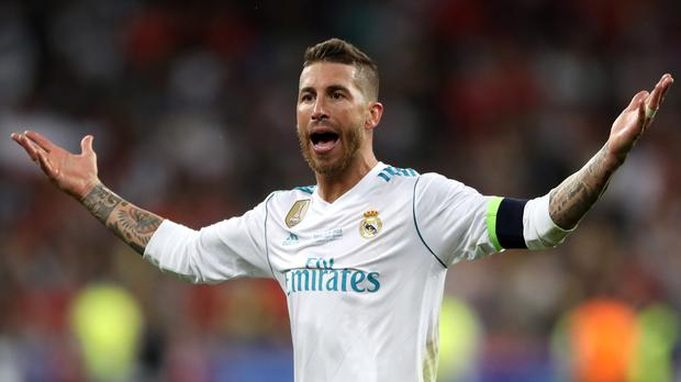 UEFA bans Ramos for additional Champions League game