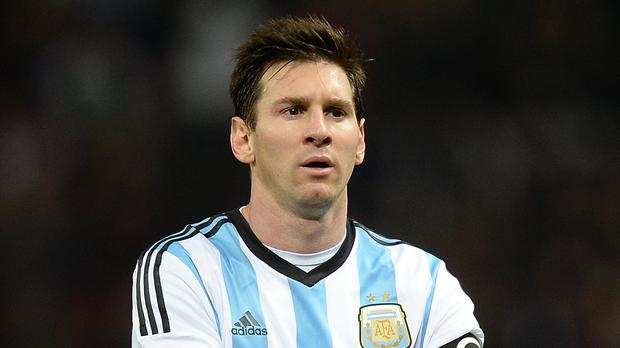 Argentina's Lionel Messi starts his quest to win the World Cup on Saturday. (Martin Rickett/PA)