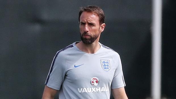 Gareth Southgate is making his final preparations for Tunisia (Owen Humphrys/PA)
