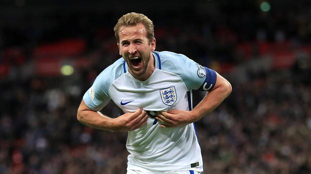England's Harry Kane wants to be 'best in the world'