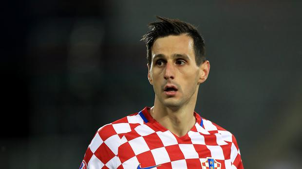 Nikola Kalinic did not play for Croatia on Saturday (Mike Egerton/PA)