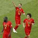 Dries Mertens opened the scoring for Belgium (Victor R. Caivano/AP)