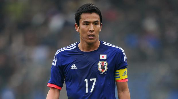 Japan skipper Makoto Hasebe is confident ahead of their World Cup opener against Colombia (Adam Davy/EMPICS)