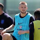 Eric Dier, centre, says Panama must not be underestimated (Owen Humphreys/PA)