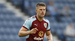 Burnley winger Johann Berg Gudmunsson is a doubt for Iceland's World Cup clash with Nigeria (Martin Rickett/PA)