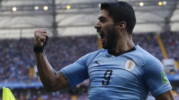 Luis Suarez has scored 52 international goals (Andrew Medichini/AP)