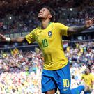 Neymar has handed Brazil a fitness boost (Nick Potts/PA)